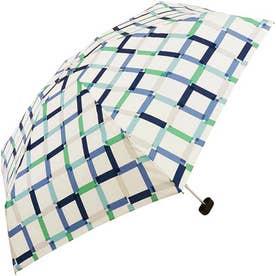 ワールドパーティー W.P.C wpcfold22003 折りたたみ傘 (1740189.クリアチェック_ブルー)
