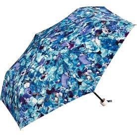 ワールドパーティー W.P.C Planticamini 折りたたみ傘 (フラワーブルー)