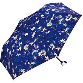 ワールドパーティー W.P.C Planticamini 折りたたみ傘 (フラワーネイビー)