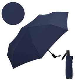 W.P.C ワールドパーティー 自動開閉 折りたたみ傘 (MSJ007.ネイビー)