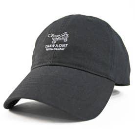 ワンポイント刺繍LOWキャップ OUTDOOR (Black)