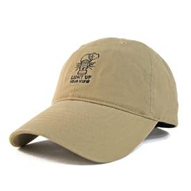 ワンポイント刺繍LOWキャップ OUTDOOR (Camel)