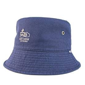 ワンポイント刺繍バケットハット BUCKET HAT OUTDOOR (Navy)