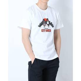 メンズ アウトドア 半袖Tシャツ CITY HIKER WT21029K (ホワイト)