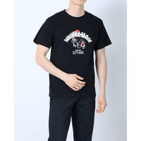 メンズ アウトドア 半袖Tシャツ CITY HIKE WT20047K (ブラック)