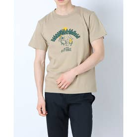 メンズ アウトドア 半袖Tシャツ CITY HIKE WT20047K (カーキ)