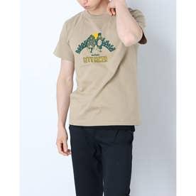 メンズ アウトドア 半袖Tシャツ CITY HIKER WT21029K (カーキ)