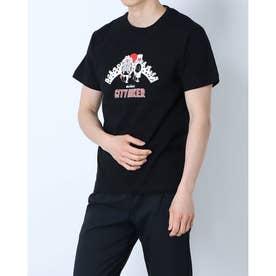 メンズ アウトドア 半袖Tシャツ CITY HIKER WT21029K (ブラック)