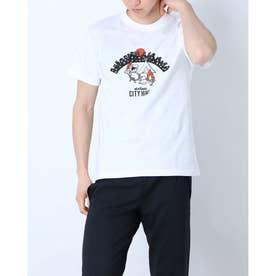 メンズ アウトドア 半袖Tシャツ CITY HIKE WT20047K (ホワイト)