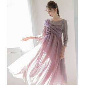 【上西星来コラボ】チュールジャンパースカート ピンク