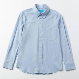 究極のボタンダウンシャツ (サックスブルー)