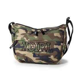 COLLEGE LOGO SHOULDER BAG (CAMO)