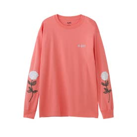 ROSE SLEEVE L/S TEE (オレンジ)