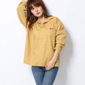 BOX LOGO L/S SHIRT (BEIGE)