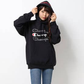 x CHAMPION SWEAT HOODIE (BLACK)