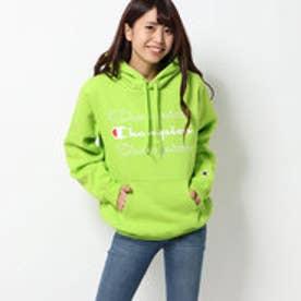 x CHAMPION SWEAT HOODIE (GREEN)