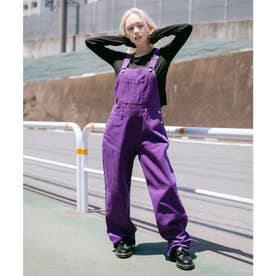 WIDE TAPERED OVERALL (PURPLE)