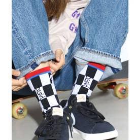 × GIRL SKATEBOARDS JACQUARD SOCKS (BLACK)