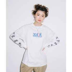 × GIRL SKATEBOARDS L/S TEE (WHITE)