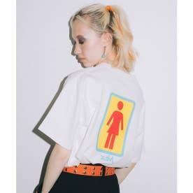 × GIRL SKATEBOARDS S/S TEE (WHITE)