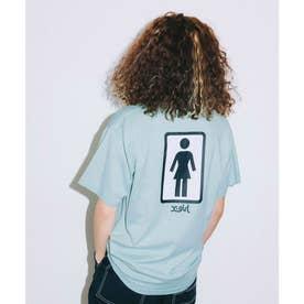 × GIRL SKATEBOARDS S/S TEE (LtGREEN)