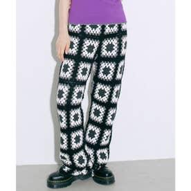 CROCHET PANTS (BLACK)