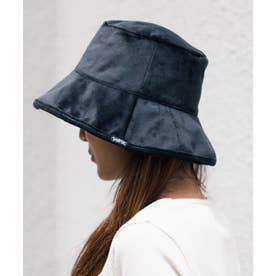 REVERSIBLE BUCKET HAT (BLACK)