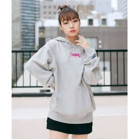 PRISM PATCH SWEAT HOODIE (ASH)