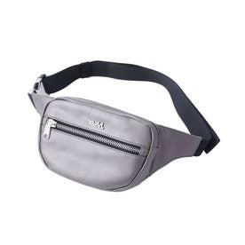 FAUX LEATHER WAIST BAG (BEIGE)