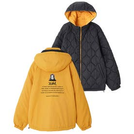REVERSIBLE QUILTED JACKET (YELLOW)
