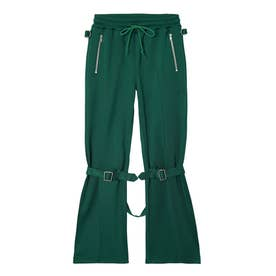 JERSEY BONTAGE PANTS (GREEN)
