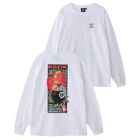 × KOZIK DEVIL GIRL L/S TEE (WHITE)