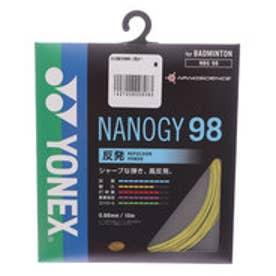 バドミントン ストリング ナノジー98 NBG98 NBG98