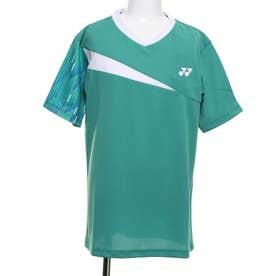ジュニア テニス 半袖Tシャツ ゲームシャツ バドミントン 10346J