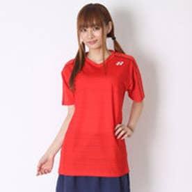 ユニセックスTシャツ シャツ(スリムタイプ) 12124 レッド  (サンセットレッド)