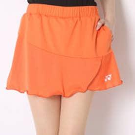 テニススコート スカート(インナースパッツ付) 26027 オレンジ  (サンシャインオレンジ)