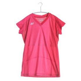 テニスTシャツ シャツ(スリムロングフィットタイプ) 20297 レッド  (クリスタルレッド)