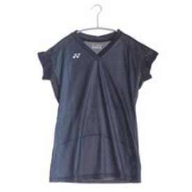 テニスTシャツ シャツ(スリムロングフィットタイプ) 20297 ブラック  (ブラック)