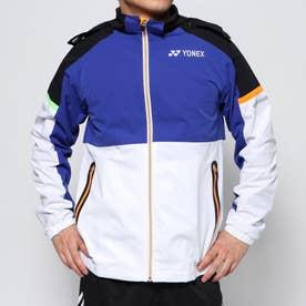 メンズ テニス ウインドブレーカー 裏地付ウォームアップシャツ(フィットスタイル) バドミントン 52006