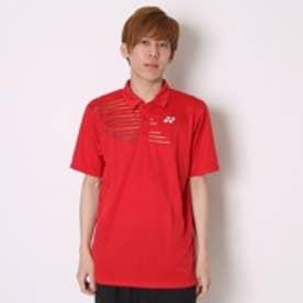 テニス用ポロシャツ ポロシャツ(スタンダードサイズ) 12133 レッド  (クリスタルレッド)