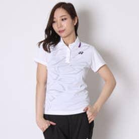 テニス用ポロシャツ ポロシャツ(スリムロングタイプ) 20294 ホワイト  (ホワイト)