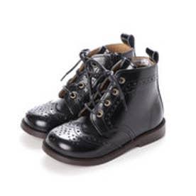 キッズアイテム[直営SHOP限定モデル]本革ブーツ (ブラック)