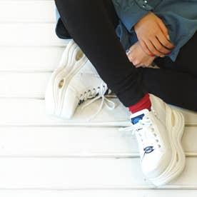 厚底スニーカー (ホワイト)