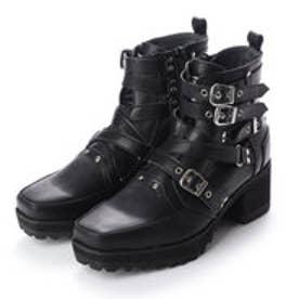 [原宿店×YOSUKE公式SHOP限定コラボアイテム]ベルテッドブーツ2600529 (ブラック)