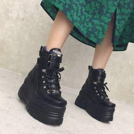[直営SHOP限定アイテム]厚底スニーカー (ブラック)