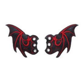 [シューケア用品]悪魔の羽根[限定shop取扱いアイテム] (ブラックレッド)