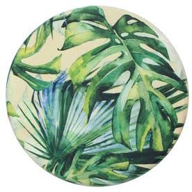 ヨコズナ PVCチェアマット 35cm (ジャングル)