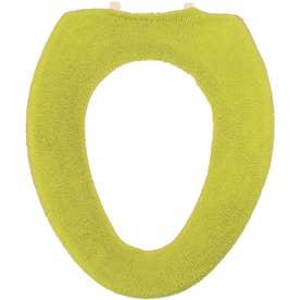ヨコズナ カラーショップ便座カバー O型 (グリーン)