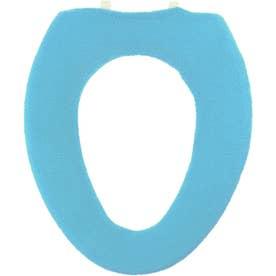 ヨコズナ カラーショップ便座カバー O型 (ブルー)