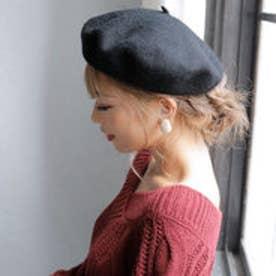 フラノベレー帽 (ブラック)